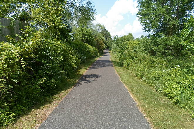 Skippack Trail Skippack Trail Running behind developments south of Skippack. Taken May 2015.