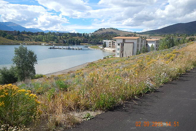 Snake River Recpath Snake River Rec Path Near North end/start of Trail on Dillon Reservoir.  Noel Keller 2 Sep 15