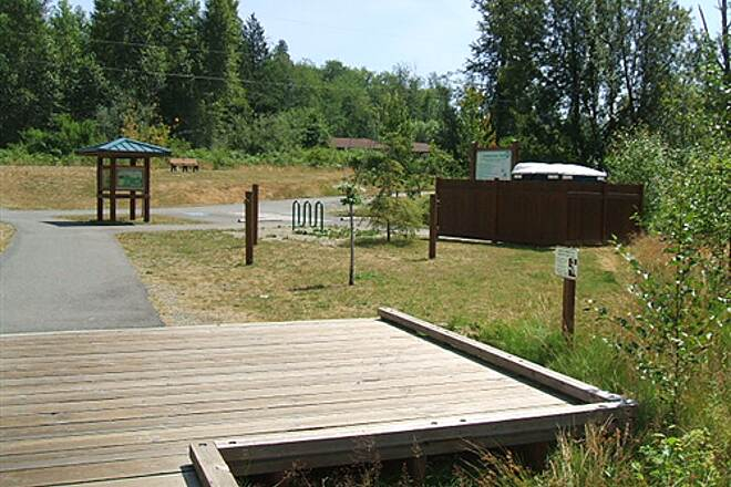 Snohomish County Centennial Trail Centennial Trail of Snohomish County Lake Cassidy Trailhead facilities