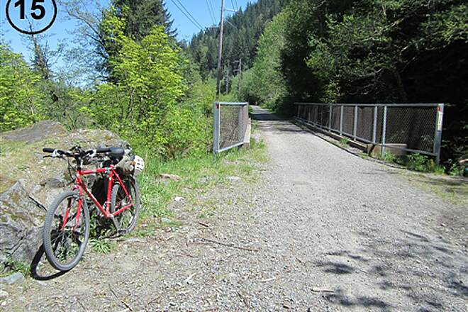 Snoqualmie Valley Trail Snoqualmie Valley Trail, Southeast Segment Iron Horse Trail crossing Boxley Creek