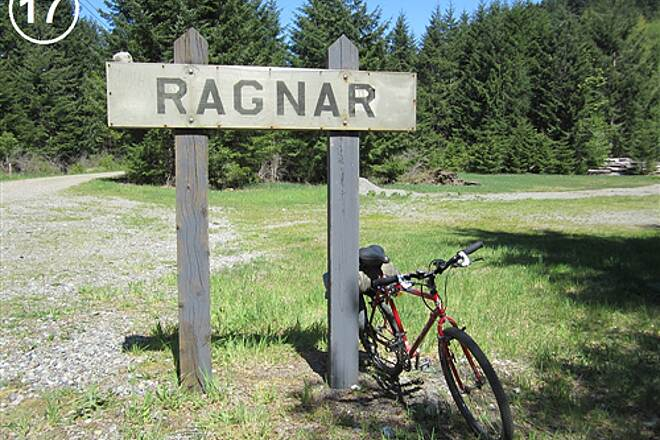 Snoqualmie Valley Trail Snoqualmie Valley Trail, Southeast Segment Ragnar was once a railroad camp and a quarry
