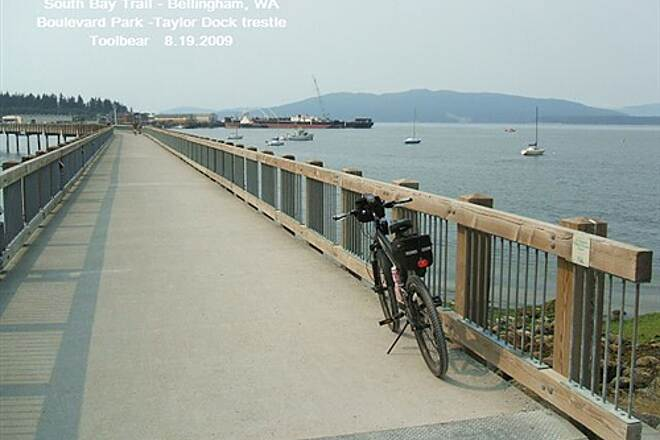South Bay Trail The South Bay Trail, Bellingham, WA One nice causeway to Taylor Dock