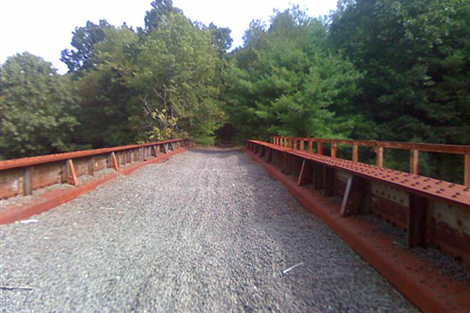Southern New England Trunkline Trail Bridge over RT12