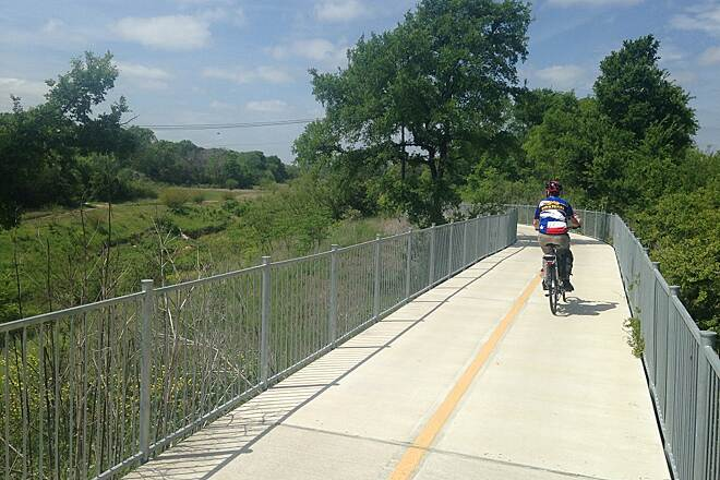 Southern Walnut Creek Trail Embankment