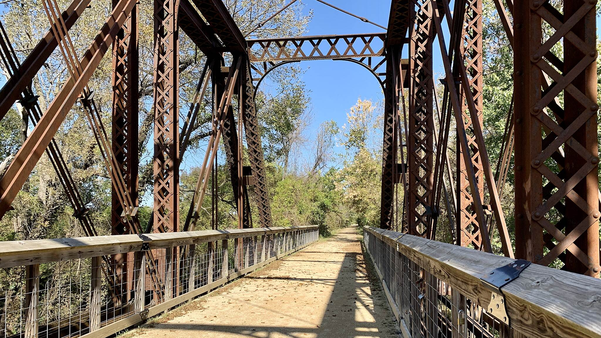 Southwind Rail Trail Trestle over Elm Creek Trestle over Elm Creek