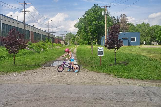 Springville Pop Warner Rail Trail