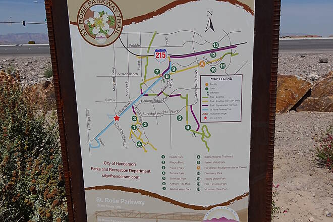 Henderson Trails Detailed Trail Maps TrailLinkcom