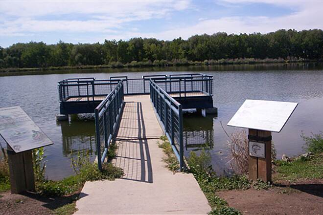 St. Vrain Greenway Golden Ponds Fishing Pier
