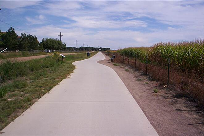 St. Vrain Greenway Along Quicksilver Rd