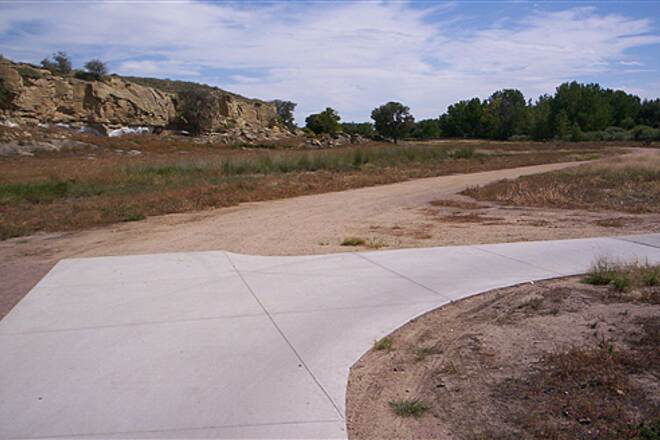 St. Vrain Greenway Trail Ends at Sandstone Ranch