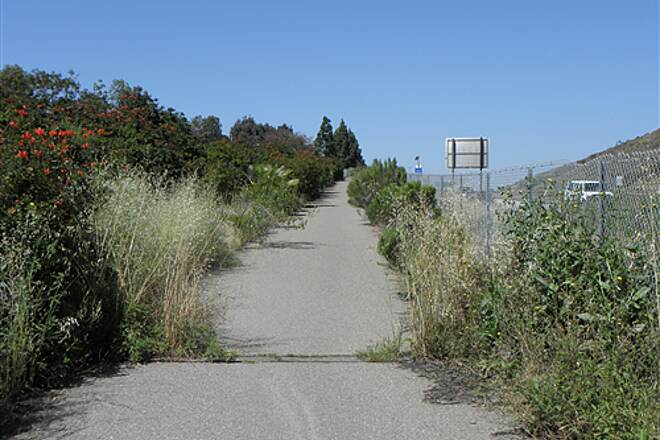State Route 56 Bike Path  Partially overgrown section just west of I-15