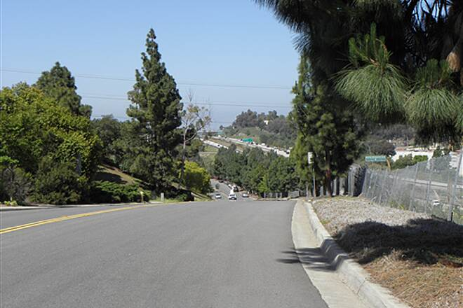 State Route 56 Bike Path  Hill on Azuraga St. is the steepest one on the trail.