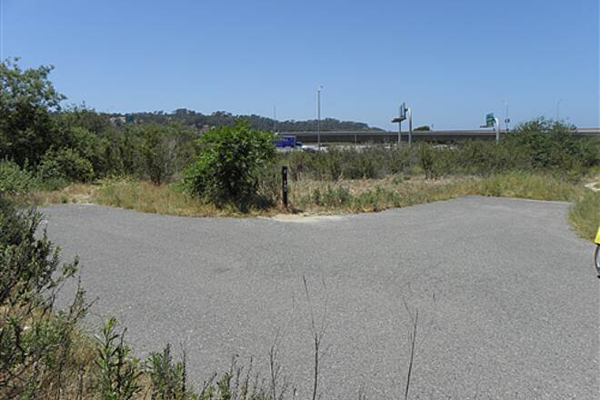 State Route 56 Bike Path  Western end of trail near Interstate 5
