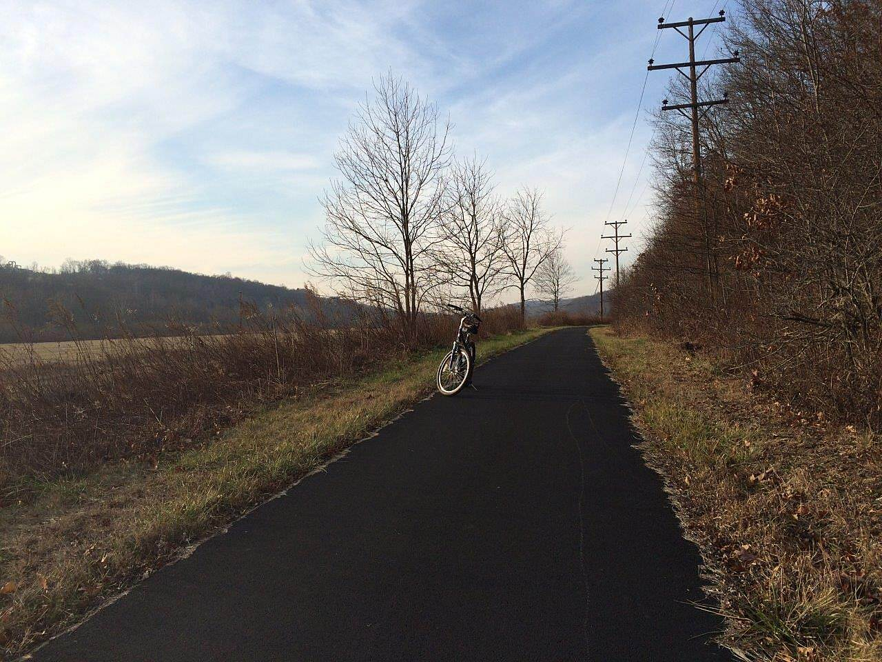 Stavich Bicycle Trail December, 2014 the Trail the Trail, December 2014