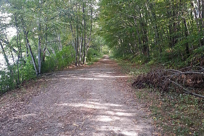 Stillwater Scenic Walkway Stillwater Trail This is what the trail typically looks like