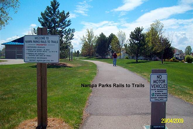 Stoddard Pathway Nampa Parks Rails to Trails South off Greenhurst Rd.