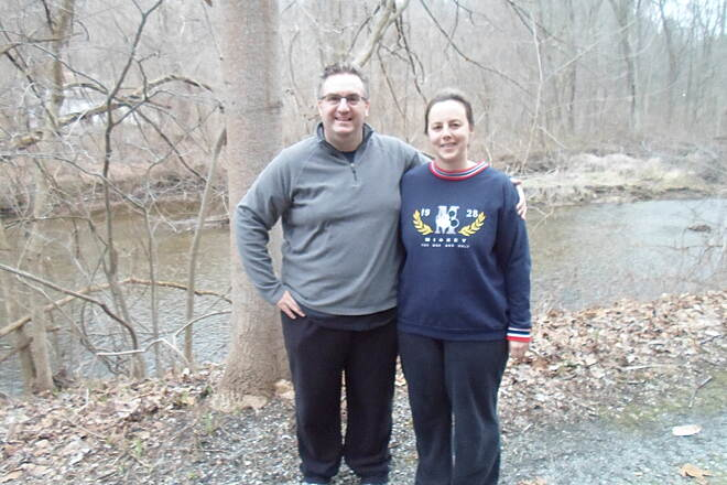 Struble Trail Struble Trail Couple enjoying a spring evening on the trail. Taken April 2015.