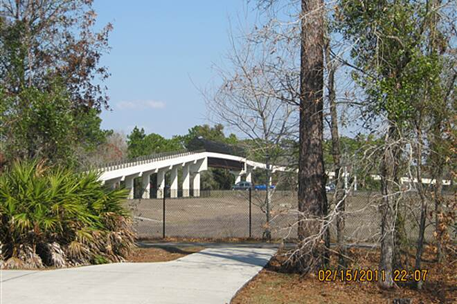 Suncoast Trail   Panoramic view of bridge crossing Hwy 50