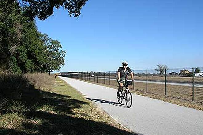 Suncoast Trail A little boring Northern Pasco County has some of the more mundane (flat and near the freeway) miles along the trail.