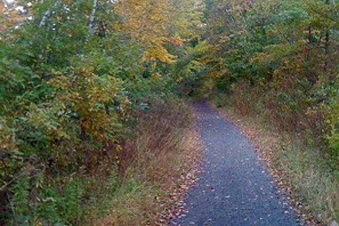 Sussex Branch Trail Cranberry Lake Byram trail This trail is fabulous!
