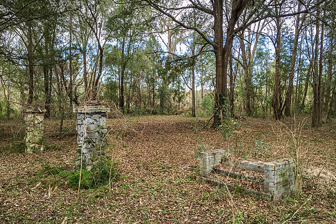 Suwannee River Greenway at Branford Moses homesite