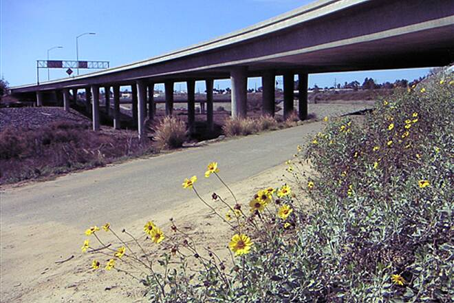 Sweetwater Bikeway  Trail goes under Route 54