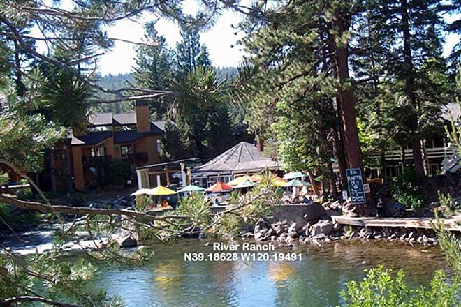 Tahoe Trailways Bike Path River Ranch Rest Stop. Food, Drink & Conversation