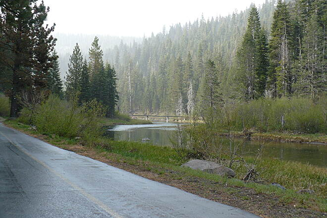 Tahoe Trailways Bike Path   The river and rail-trail are named after Chief Truckee, a leader of the Paiute tribe who guided westward settlers through the area in the mid-1800s.