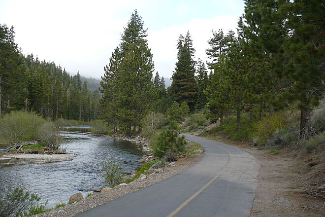 Tahoe Trailways Bike Path   The Truckee watershed became part of the National Forest Foundation's 'Treasured Landscapes, Unforgettable Experiences' program in 2012, one of only 14 sites chosen nationwide.