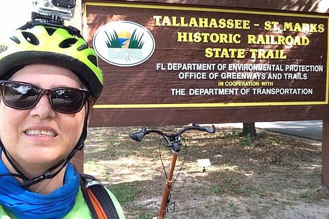 Tallahassee-St. Marks Historic Railroad State Trail Nice trail
