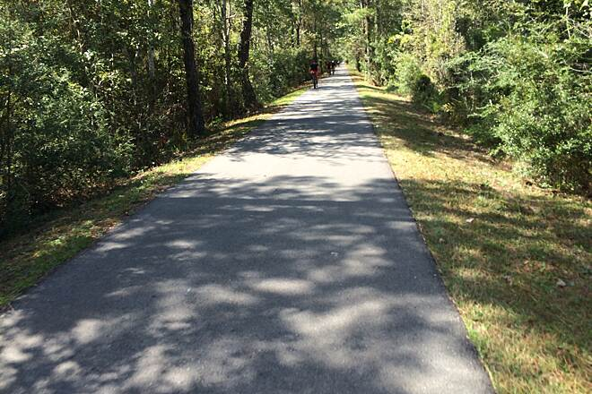 Tammany Trace Appearance most of trail