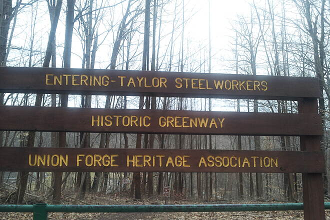 Taylor SteelWorkers Historical Greenway  Trail Head