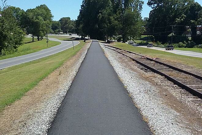 Thermal Belt Rail-Trail Smooth asphalt Smooth sailing