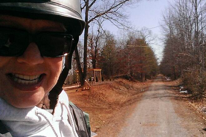 Thermal Belt Rail-Trail Selfie Selfie of me!