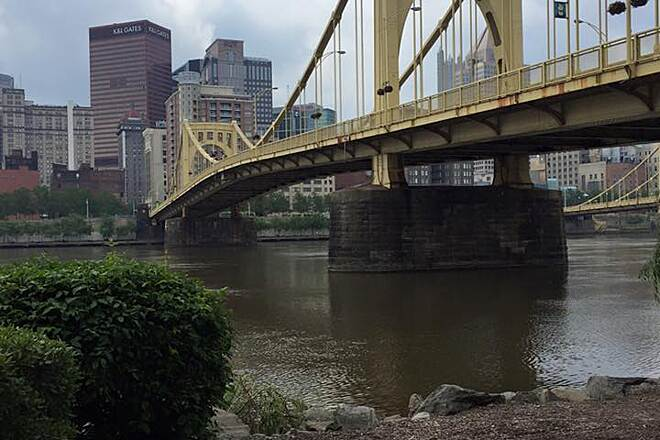 Three Rivers Heritage Trail Roberto Clemente Bridge