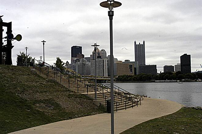 Three Rivers Heritage Trail  North Shore Trail (part of the Three Rivers Heritage Trail) 09/12/2009A stunning view of the Pittsburgh skyline as the path winds by the Carnegie Science Center.