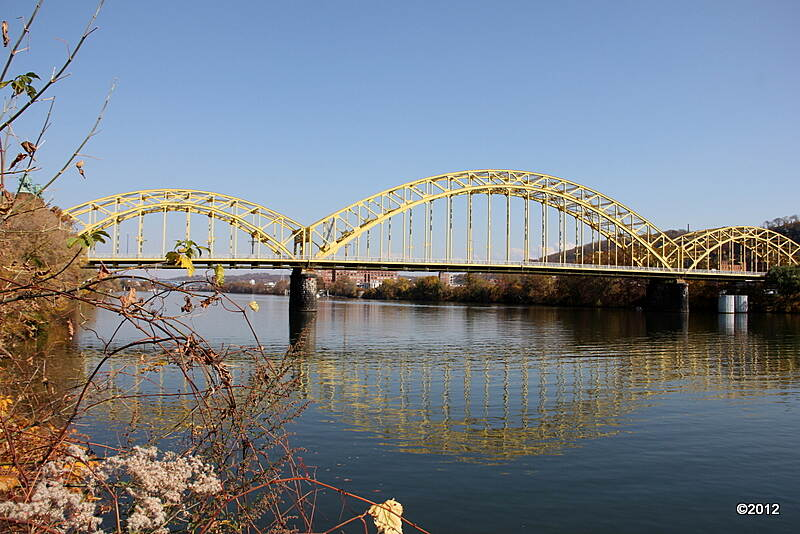 Three Rivers Heritage Trail 16th Street Bridge