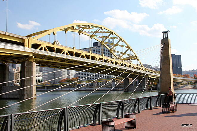 Three Rivers Heritage Trail Fort Duquesne Bridge