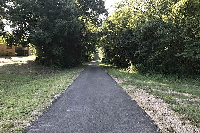 Trace Multi-Use Trail  Camden RailTrail Looking left