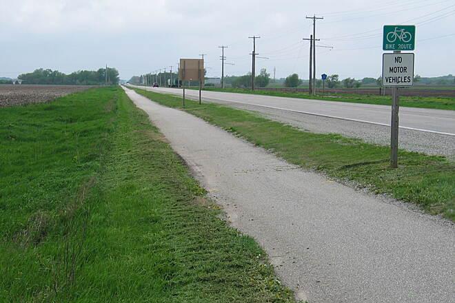 Iowa City Bike Trails Map