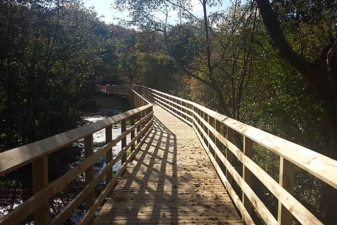 Trolley Trail (PA) Boardwalk