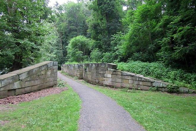 Trout Island Trail Erie Canal Lock  June 2015 Erie Canal Lock.  Near the trail .