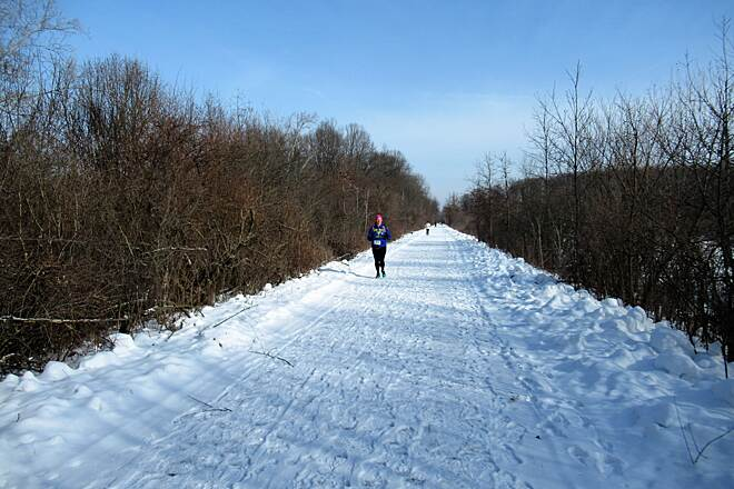 Trout Island Trail Trout Island Tromp February, 2019 Trout Island Tromp annual race.