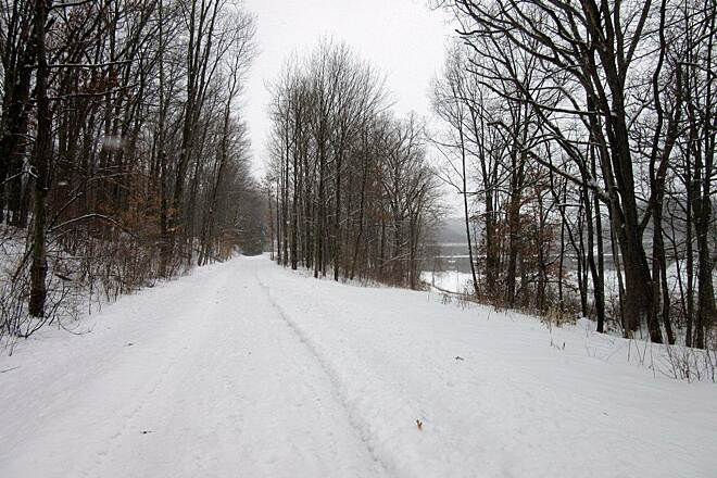 Trout Island Trail   February 2015 -Trail Nice trail even during the winter - February 2015