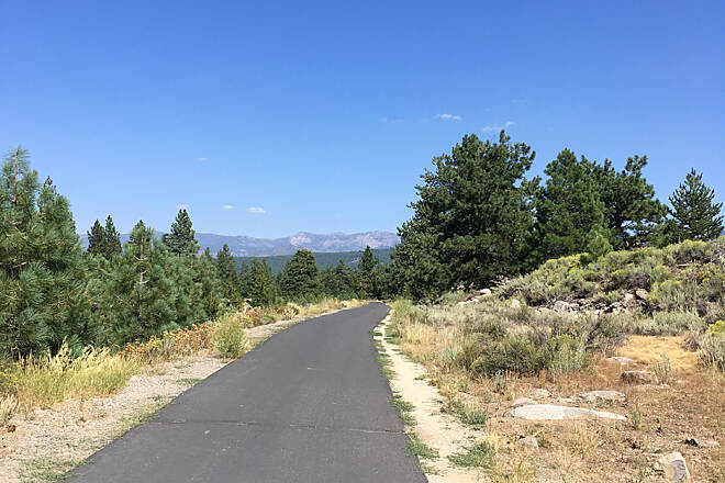 Truckee River Legacy Trail open spaces My 11 year old and I biked the trail and rode 8.36 miles. This picture was toward the beginning of our ride. Absolutely beautiful here!