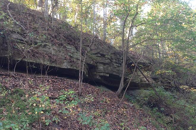 Tunnel Hill State Trail Several Rock Formations Brad Wallace