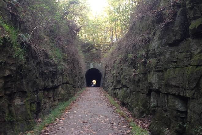 Tunnel Hill State Trail large tunnel Brad Wallace