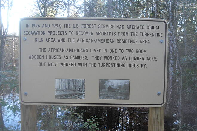 Tuxachanie National Recreation Trail History Information about the area.