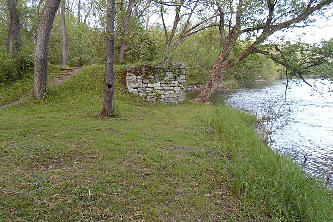 Union Canal Trail Union Canal Trail Another canal ruin, located just east of the cantilever bridge. Taken May 2014.