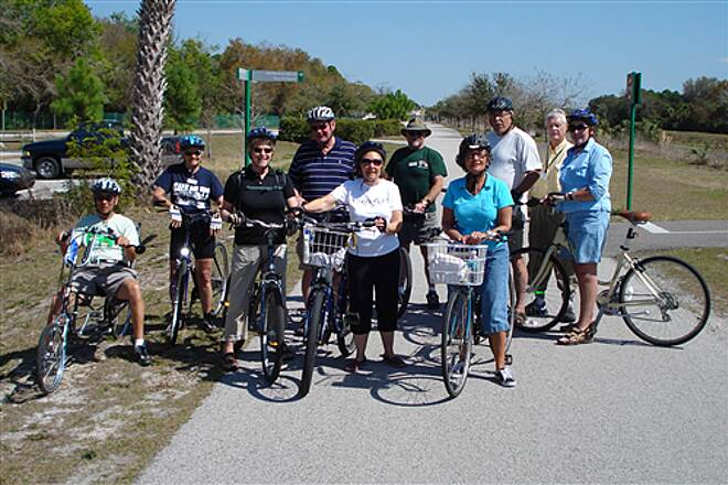 Upper Tampa Bay Trail TRAVLERS REST BIKE CLUB ON THE TRAIL